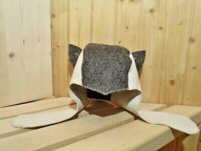 Saunamütze Saunahut Kappe Hut Hat Mütze Banja Saunakappe Filzmütze Sauna Шапка