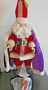 Rare-Santa-039-s-Magic-Star-The-Danbury-Mint-17-034-Tall-Original-Box-and-Packing