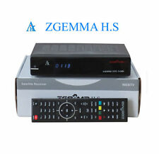 Original Zgemma H S HD ONE TUNER  Linux OPS IPTV Box Satellite Receiver