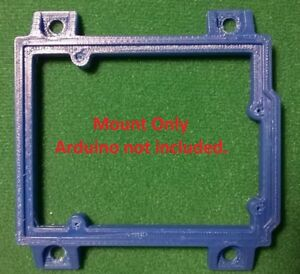 Arduino-UNO-R1-R2-R3-Mount-Holder-Accessory-BLUE