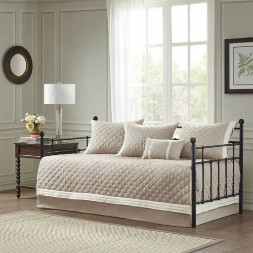 Madison Park Breanna 6 Piece Cotton Daybed Cover Set