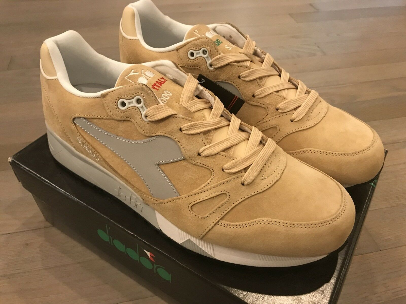 super popular 99944 a3d92 210  Diadora S8000 Beige Italia Size Size Size US 12.5 Made in Italy.  Deadstock