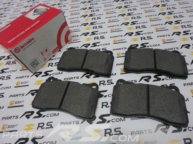 FOR RENAULT SPORT MEGANE III 3 RS 250 265 275 FRONT MINTEX BRAKE DISC PADS SET