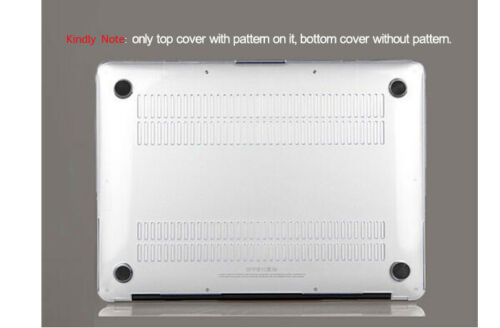 "Rubberized Hard Case Shell Keyboard Cover Macbook Air Pro 11 12 13 15/"" inch MF"