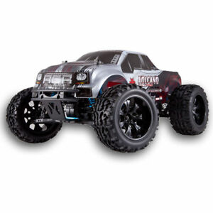 SILVER-Redcat-Racing-Volcano-EPX-PRO-1-10-Electric-RC-Monster-Truck-Silver