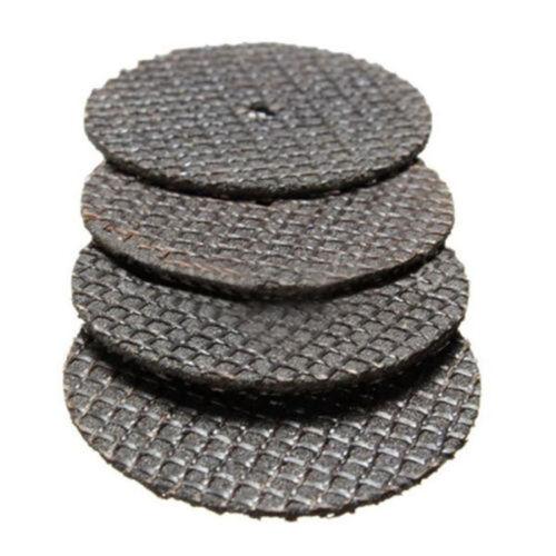 25stk Trennscheiben Diamant Trennscheibe Set 32mm mit Spanndorn Drehwerkzeug
