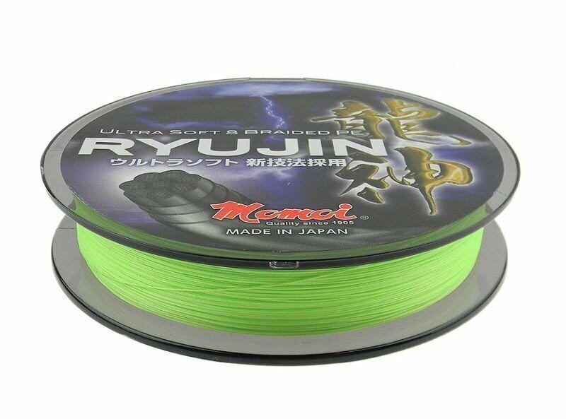 Momoi Ryujin Lime Green 150m 0,06mm - 0,23mm Trenzado Made in Japan