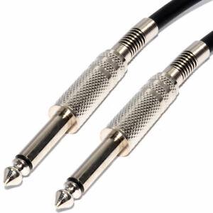 5m-Pulse-6-35mm-Low-Noise-Guitar-Cable-BLACK-Lead