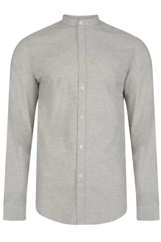 Logoro Da Uomo Anderson Designer collo serafino Smart Casual Camicia Button Up