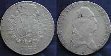 MONETA COIN ANTICHI STATI GERMANIA SACHSEN FREDERICK AUGUST THALER 1787 ARGENTO