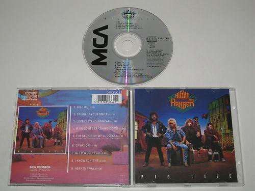 Night Ranger / Big Life (MCA Dmcf 3362) CD Álbum