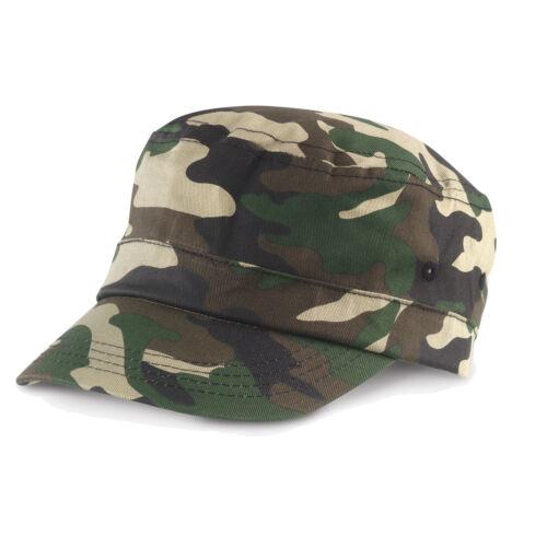 Cappello RESULT Camo Urban ARMY Mimetico CAPPELLINO Fidel Castro UOMO Donna CAP