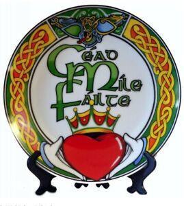 Cead-mile-failte-Irish-Souvenir-Plate