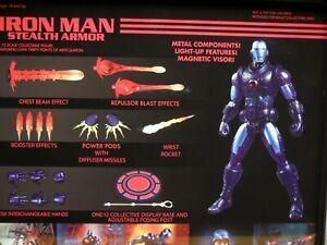 Mezco Nouveau * Un: 12 Iron Man Stealth Armor Px Avant-première Collective Exclusif 696198764918