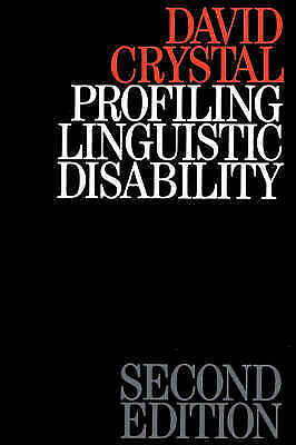 1 of 1 - Profiling Linguistic Disability by Crystal, David (Author)