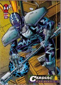 Cardiac #33 The Amazing Spider-Man 1994 Fleer Trading Card