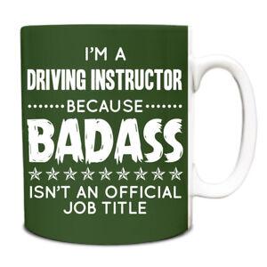 Im a Train Driver Because BADASS isnt an official job title Mug 213