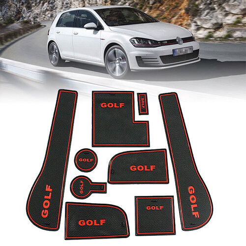 SUPAREE Floor Mat Door Mats Accessories Rubber Protector For VW Golf 2016  2017 For Sale Online   EBay