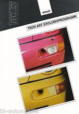 Bild-Prospekt Porsche 911 Frontspoiler TechArt Exclusivprogramm 1994 int Nr 8