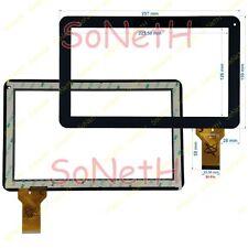 "Vetro Touch screen Digitizer 10,1"" TONBUX Q102 Tablet PC Nero"