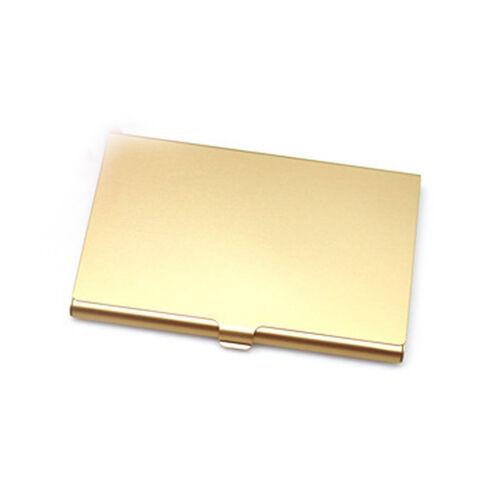Utile en acier inoxydable Portefeuille RFID Bloquant identité protection porte-carte Case