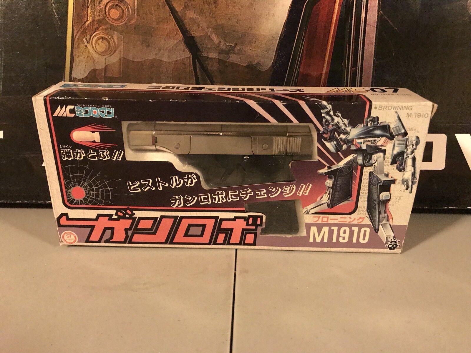 Cambio De Micro Pre-Transformers MC-07 marróning Takara Menta en caja sin usar muerto como nuevo