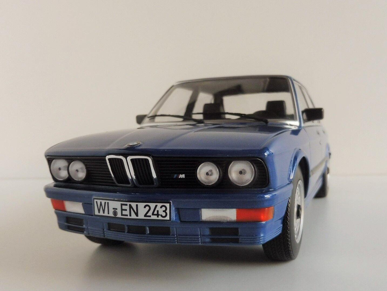 BMW M 535i 1987 1 18 Norev 183267 Metallic bluee M535i M5 E28 5er