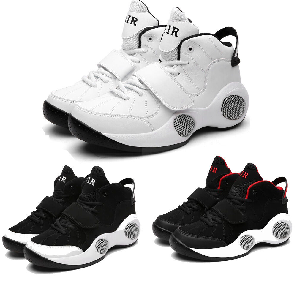 Men's Air Big Cushion Basketball Trainer shoes Sport Sneaker High-Elastic Sole