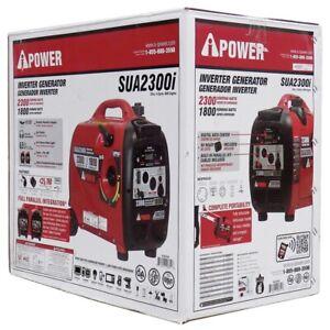 NEW - A-iPower SUA2300i Ultra Quiet 2300-Watts Inverter Generator