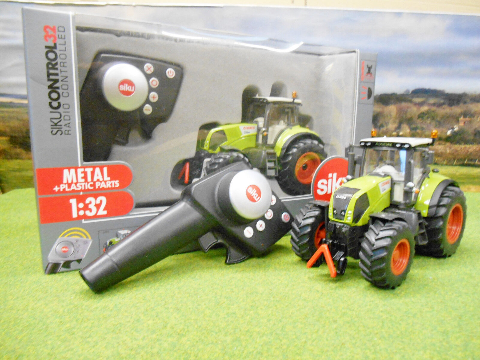 SIKU Claas Axion 850 Tractor De Radio Control Set 1/32 6882 Nuevo