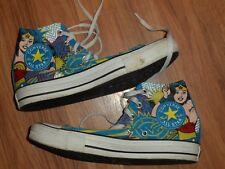 8b6c5210018150 item 4 men 6 women 8 ~ Converse All star Chuck Taylor high top shoe DC Wonder  Woman -men 6 women 8 ~ Converse All star Chuck Taylor high top shoe DC  Wonder ...