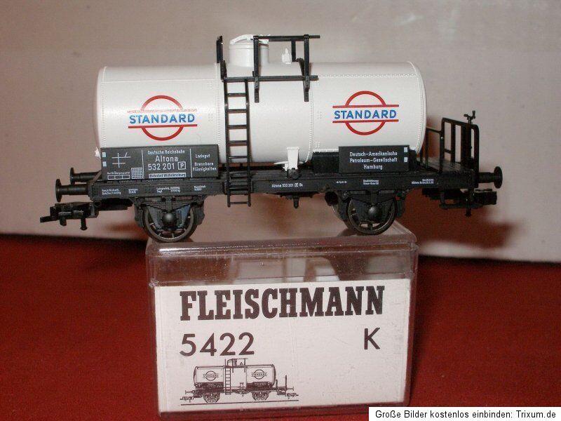 Fleischmann 5422 K Tank Cars   Standard   Der D. a. P.G Ep. 2 DRG, Boxed,