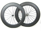 23mm width carbon fiber bike 88mm Clincher wheels 700C road bicycle wheelset