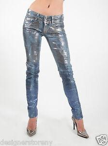 MET in Jeans ANGEL Denim stretch low waist skinny 3-colour Mylar
