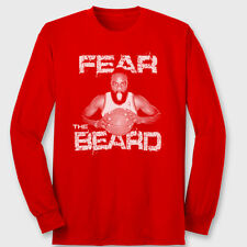 143cd9df9d0a FEAR THE BEARD James Harden T-shirt Basketball Houston Rockets Long Sleeve  Tee