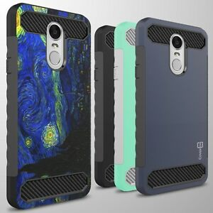 For-LG-Stylo-4-Q-Stylus-Case-Hard-Shockproof-Phone-Cover-with-Carbon-Fiber