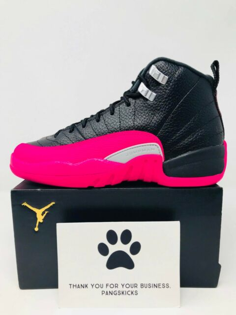 detailed look 1bb9c a46be Nike Air Jordan 12 Retro 'Deadly Pink' 510815-026 GS Size 4Y-4.5Y