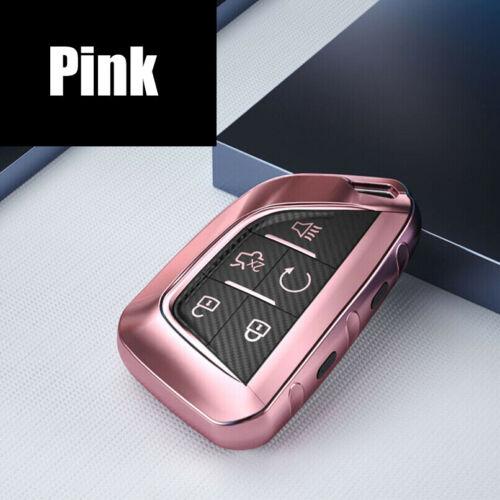 TPU Car Key Fob Cover Case Shell For Cadillac CT5 CT6 ATS CTS Escalade XT5 XTS
