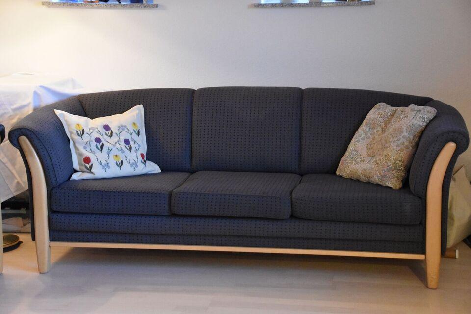 Sofagruppe, stof, 5 pers.