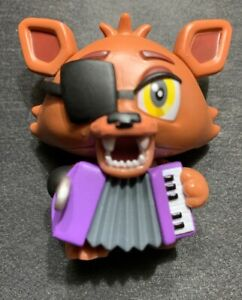 Details about FUNKO Five Nights At Freddy's Pizzeria Simulator Mystery  Minis: ROCKSTAR FOXY