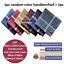 100-Mens-Cotton-Handkerchiefs-Large-Gents-King-Size-White-Dark-Color-Lot thumbnail 14