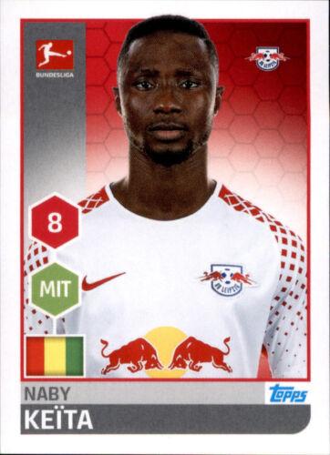 TOPPS Bundesliga 2017//2018 Naby Keita Sticker 164