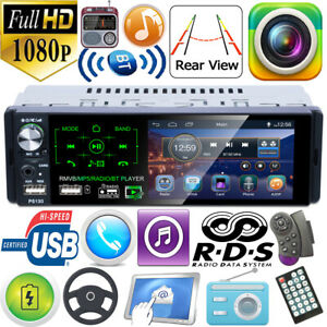 Single-1Din-4-1in-RDS-AM-FM-Radio-BT-AUX-USB-TF-Handsfree-Car-Stereo-MP5-Player