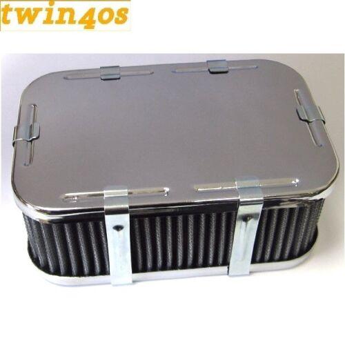 1 X 32//36 Weber DGV//DGAV//DGEV /& 38 DGAS//DGMS//DGES carbohidratos Conjunto De Filtro De Aire 63mm