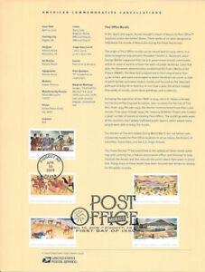 1914-55c-Forever-Post-Office-Murals-5372-5376-Souvenir-Page