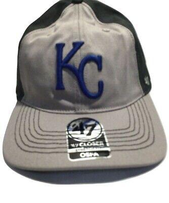 entire collection cheap sale size 40 Kansas City Royals '47 Brand Basic Logo Clean Up Adjustable Hat ...