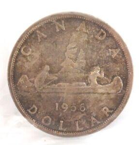 CANADA-CANADIAN-1956-1-VOYAGEUR-ICCS-MS-62-GRADE-SX406