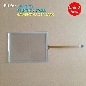1PC Nuevo Pantalla Táctil Cristal para Siemens Simatic KTP600 6AV6647-0AD11-3AX0