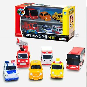 little bus tayo friends special set 6 pcs toy car toto cito nuri