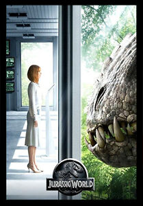 JURASSIC WORLD MOVIE Film Cinema wall Home Posters Print Art #21 A3
